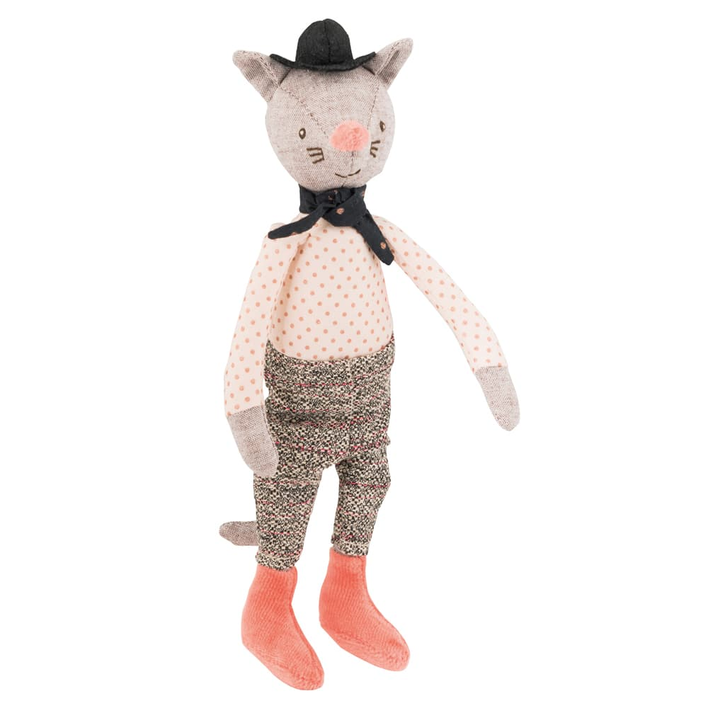 mini gallant cat - sherlock holmes - il etait une fois - once upon a time - fairy tales - Moulin Roty toys Australia