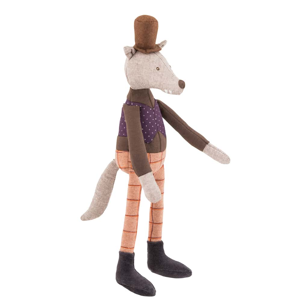 mini gentleman wolf - il etait une fois - once upon a time - fairy tales - sherlock holmes - Moulin Roty toys Australia