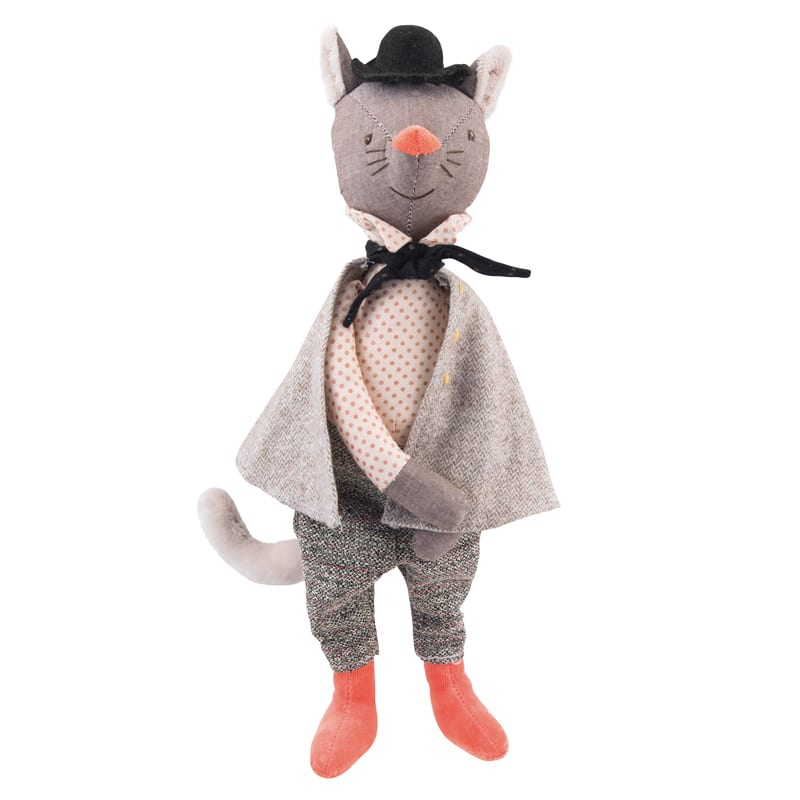 fairy tales and nursery rhymes - imaginative play - the gallant cat - il etait une fois - Moulin Roty toys Australia