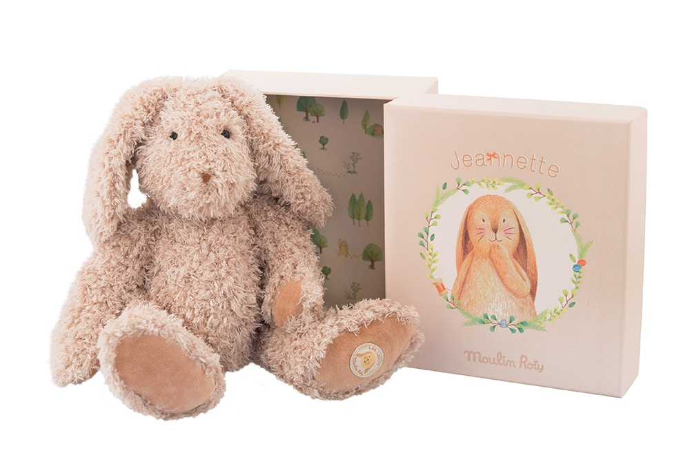 Jeanette mummy rabbit - Vite un Calin - Moulin Roty
