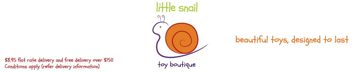 beautiful toys - designed to last - Little Snail