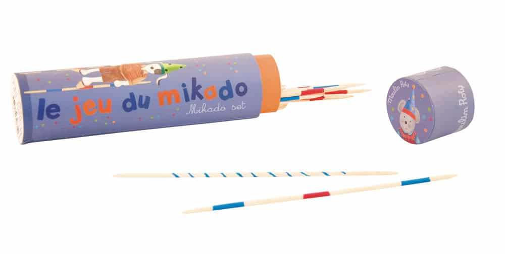 Mikado, pickup sticks, Moulin Roty, games