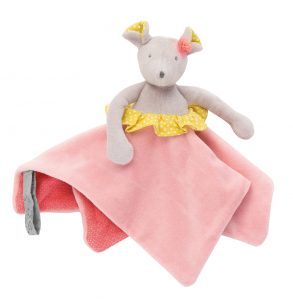 Mademoiselle et Ribambelle, Mouse comforter, comforters, baby toys, doudous