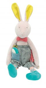 Moulin Roty, Mademoiselle et Ribambelle, activity rabbit, acitivty toys, baby toys, soft toys