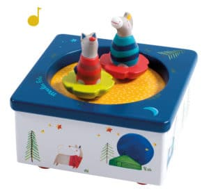 musical toy, music box, wooden toys, les zig et zag, Moulin Roty toys Australia