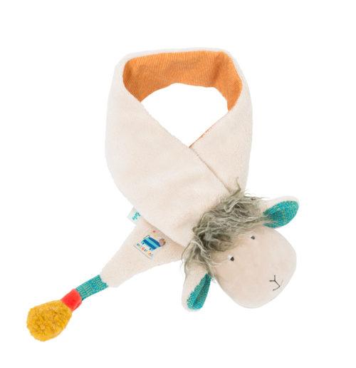 winter scarf, baby wear, children's winter clothing, scarf, children's scarf, les zig et zag, Moulin Roty toys Australia