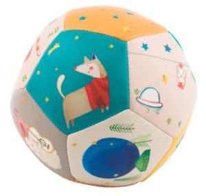 soft ball, baby toys, soft toys, les zig et zag, Moulin Roty toys Australia