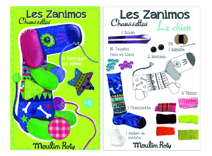 zanimos make your own dog - packaging and instructions