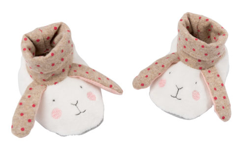 petits dodos rabbit slippers