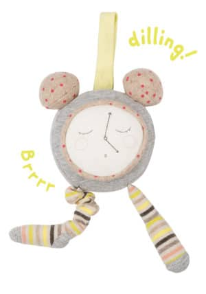 soft toy alarm clock - petit dodos