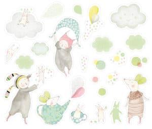 nursery decoration stickers petit dodos
