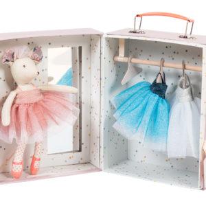 Il etait une fois – ballerina toy mouse suitcase