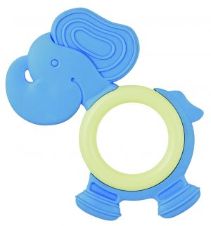 GB-MN-ET-Pony-PPL My Natural Eco Teether Elephant Blue