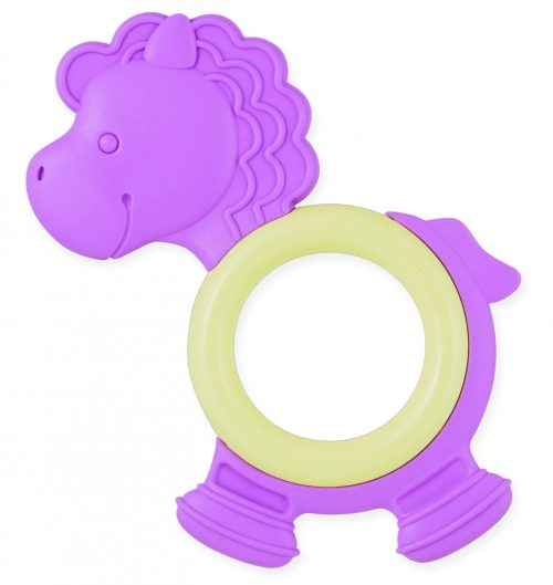 GB-MN-ET-Pony-PPL MY Natural Eco Teether Pony Purple