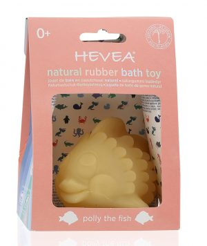 HEVPOLLY Hevea Polly the Fish Natural Rubber Bath Toy