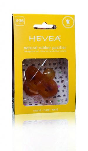 HV-Crown-3-36 Natural Rubber Hevea Pacifier Crown Design