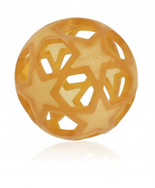 HE-TOY-Star-Ball Hevea Natural Rubber Star Ball