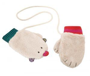 winter mittens - les jolis pas beaux - moulin roty 629 120
