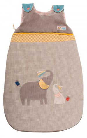 elephant sleeping back - moulin roty 658 093