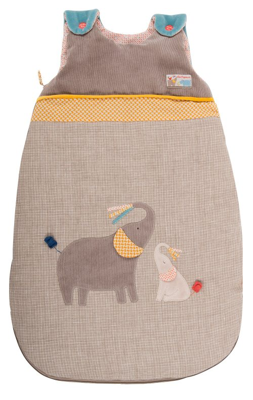 elephant sleeping back - moulin roty 658 093
