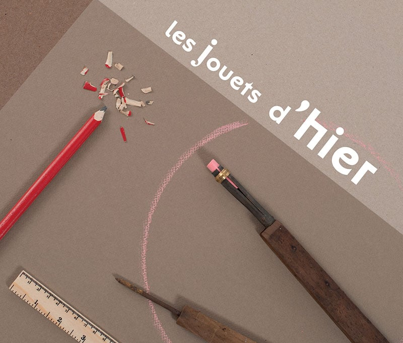 'les jouets d'hier' tools and graphical drawings