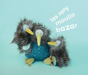 plush family of kiwi dolls 'les roty moulin bazar'
