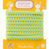 french elastics yellow and blue