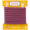 french elastics blue and red