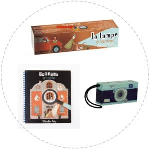 spy gift pack - including spy camera , detective book, spy story book torch