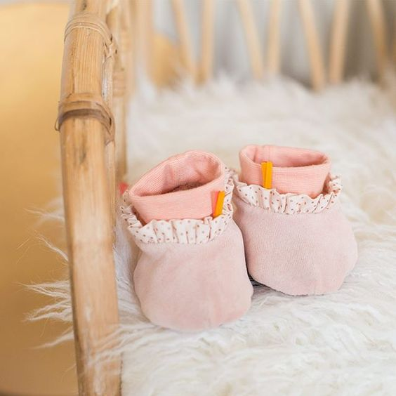 baby clothing and slippers
